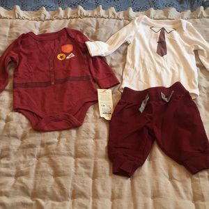 Set of 2 Cat&Jack 0-3 onesies and Circo 0-3 pants